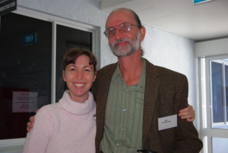 Alina Bonaventura and Neil Crossland