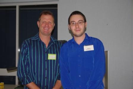 Dr David Craig and Reece McPherson